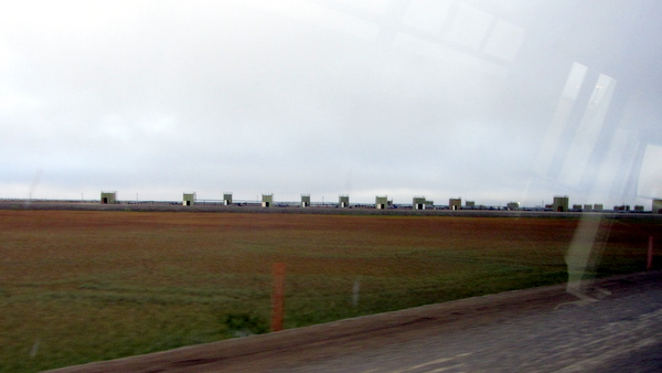 Some of the actual wells at Prudoe Bay, AK